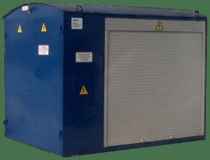 Мобильная реостатная установка для испытания тепловозов РС-800М